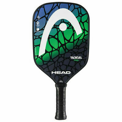 NEW HEAD Radical PRO Composite Pickleball Paddle Green, Blue & Black 226518-11