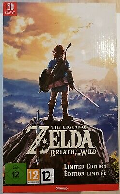 Zelda breath of the wild collector edition nintendo switch - New & Sealed