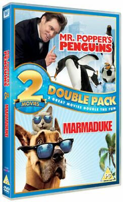 Mr. Popper's Penguins/ Marmaduke DVD (2012) Jim Carrey
