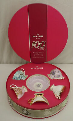 Royal Albert 100 Year Anniversary 10 Piece Teacup & Saucer Set 1950-1990