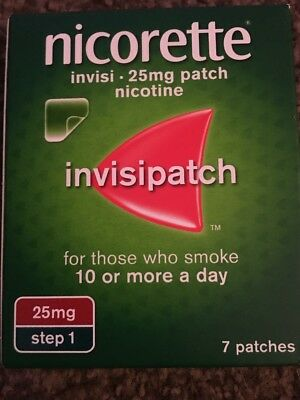 Nicorette 25mg Invisipatch Cheapest On eBay Step 1