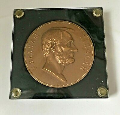 Abraham Lincoln Medal - First Term Inauguration 1861 Second Term 1865