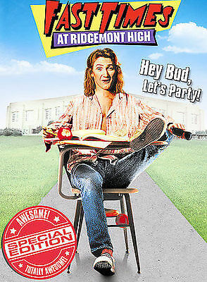 Fast Times at Ridgemont High (DVD, 2004, Special Edition Widescreen) PENN LEIGH