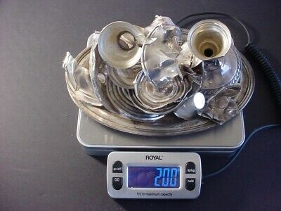 Sterling SIlver .925 Scrap ~ Lot #7 ~ 200 Grams