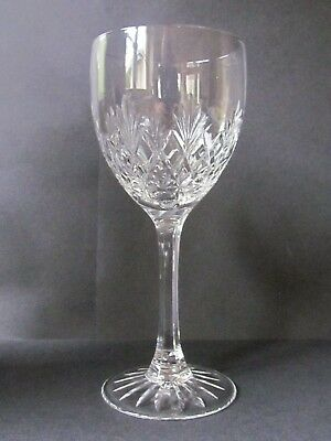 "EDINBURGH CRYSTAL KELSO 7⅜"" WATER GOBLETS / GLASSES - FIRST QUALITY (Ref4106)"