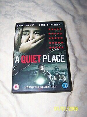 A Quiet Place Dvd Excellent Condition 15 2018 Great Film