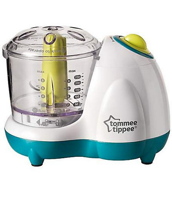 Tommee Tippee Explora Baby Food Blender Portion Sized Meals Smooth Purees