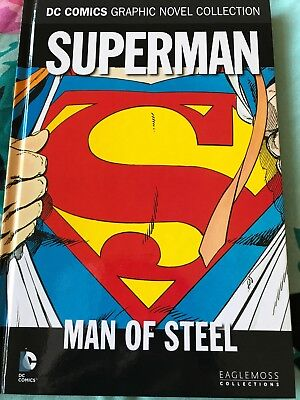 DC Comics Graphic Novel Collection: Superman Man Of Steel Vol 10 Eaglemoss