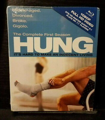 Hung: The Complete First Season (Blu-ray Disc, 2-Disc Set) Brand New!! Sealed!!