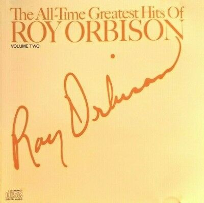 Roy Orbison Cd The All Time Greatest Hits Volume 2 1982 Free Post In Australia
