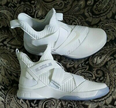 5d87c376caf Nike LeBron Soldier XII 12 SFG Basketball Shoes - White - AO4054-101 - SZ