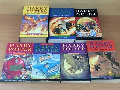 Harry Potter Complete Set of 7 books with First Editions