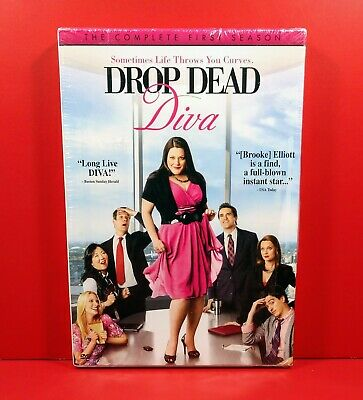Drop Dead Diva: The Complete First Season 1 (DVD, 2010, 3-Disc Set) - BRAND NEW