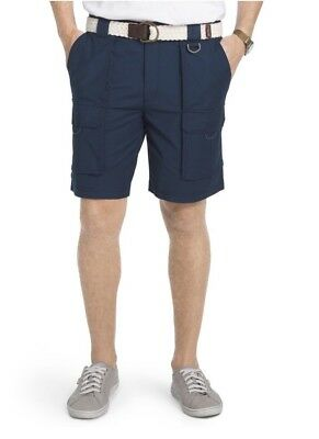 061c09a917 NWT Men's IZOD Surfcaster Classic-Fit Performance Stretch Shorts - Blue 32