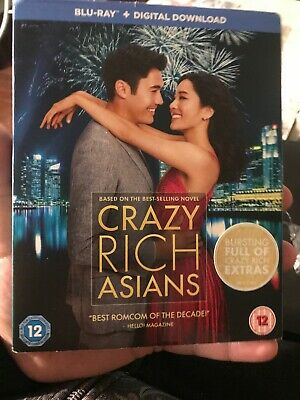 Crazy Rich Asians [Blu-ray + Download, 2019] NEW WITH SLEEVE! SEALED! FREE P&P!