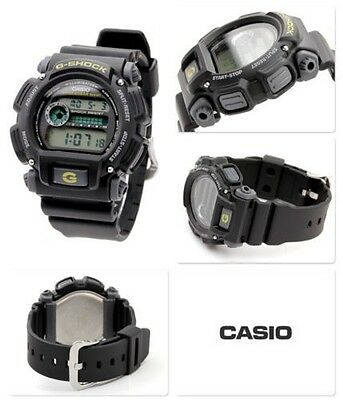 Casio Dw9052-1Cos - Mens Classic G-Shock Black Resin Digital Chronograph Watch