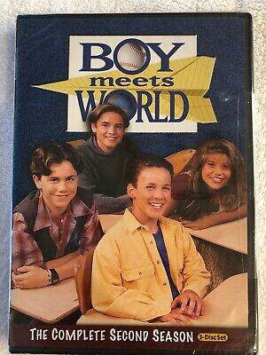 BOY MEETS WORLD The Complete Second Season 3-Disc Set DVD NEW Sealed 2nd