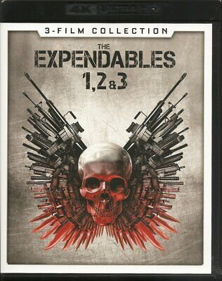 NEW!!! The Expendables 3-Film Collection 1, 2 & 3 [4K Ultra HD/Blu-ray, ]