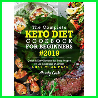 The Complete Keto Diet Cookbook For Beginners (E-book){PDF}⚡Fast Delivery(10s)⚡