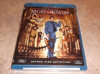 Night at the Museum (Blu-ray Disc, 2009 ) Ben Stiller NEW