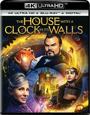 NEW!!! The House with a Clock in Its Walls (4K Ultra HD/Blu-ray/Digital, 2018)