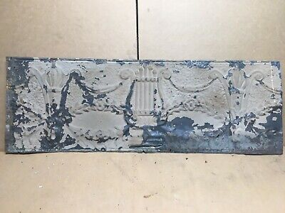 "1pc Lot of 36"" by 12"" Antique Ceiling Tin Vintage Reclaimed Salvage Art Craft"