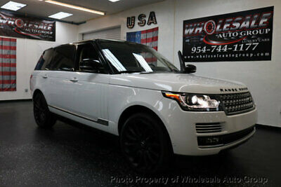 2015 Land Rover Range Rover 4WD 4dr Autobiography LWB BEST COLOR . LOADED. FACTORY WARRANTY. CARFAX CERTIFIED. CALL 954-744-1177