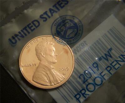 2019-W Lincoln Cent - Proof  Come in Original Government Packaging