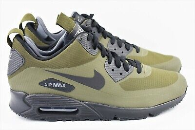 check out 60ac6 760f0 NIKE AIR MAX 90 Mid Winter Mens Size 10.5 Shoes Khaki Green 806808 300