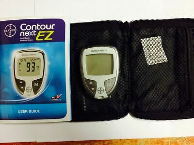 Bayer Contour Next  Meter Plus Carrying Case And User Guide