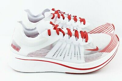 433aded6781b3 NIKE ZOOM FLY SP Tokyo Mens Size 11.5 Running Shoes AJ9282 100 White ...
