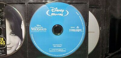 The Little Mermaid blu-ray (Diamond Edition) Disc Only