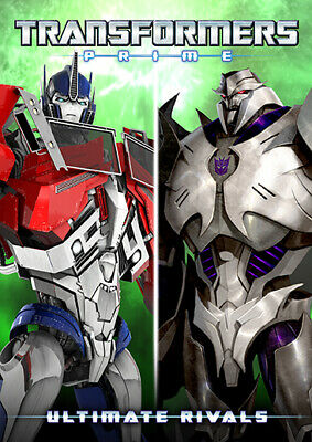 TRANSFORMERS PRIME ULTIMATE RIVALS New Sealed DVD 5 Episodes