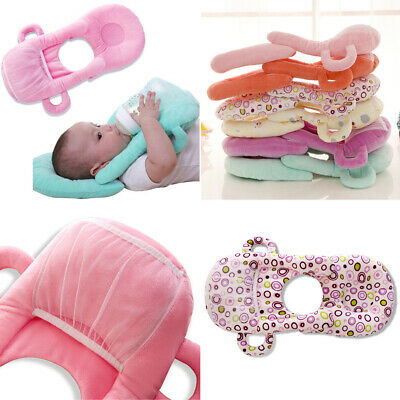 Newborn baby nursing pillow infant cotton milk bottle support pillow cushion UK