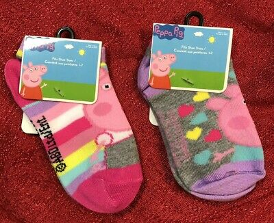 Props Pig Toddler 2 Pack Of Socks Shoe Size 1-7  , BRAND NEW