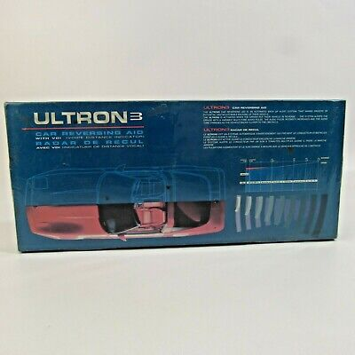 Ultron 3 Car Reversing Aid NEW Deadstock Di-Tronic Systems Sensor Voice Distance