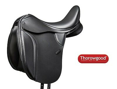 Thorowgood T8 Dressage Saddle Low Wither with Free Mounts NEW