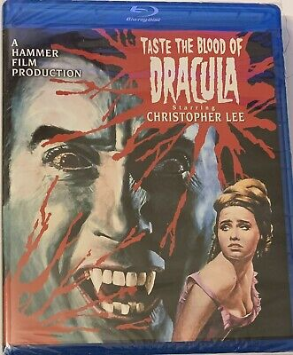 Taste the Blood of Dracula (Blu-ray Disc, 2015) Christopher Lee NEW Sealed