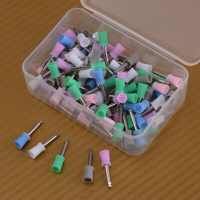 100x Disposable Dental Latch Polishing Polisher Prophy Cup Fits Angle Handpiece
