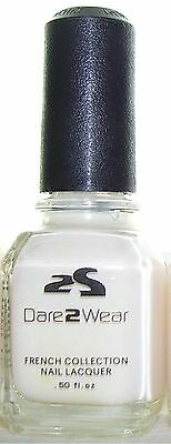LeChat FC03 IVORY WHITE 15ml  DARE2WEAR NAIL LACQUER French Polish