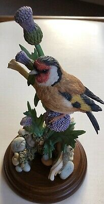 COUNTRY ARTISTS GOLDFINCH On Thistle FIGURINE 01867