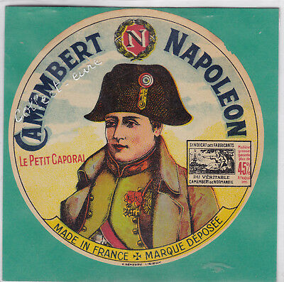 L680 Fromage Camembert Le Petit Caporal Napoleon Made In France