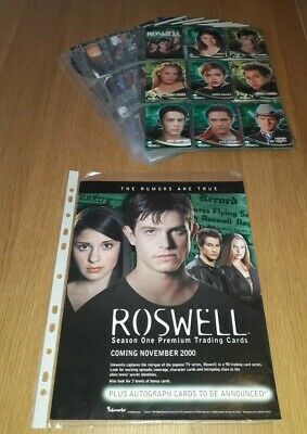 Roswell Season 1 Alien Orb Chase Card O2