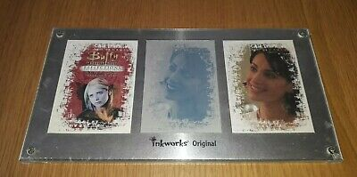 Buffy The Vampire Slayer Reflections Trading Card Printing Plate By Inkworks