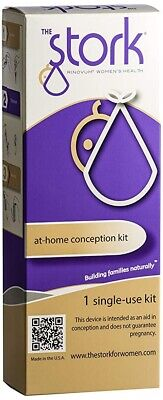 The Stork At-Home Conception Kit - Family Planning Single Use Kit - NEW & SEALED