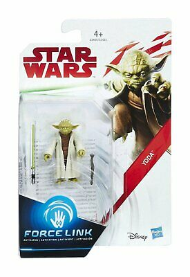 Star Wars Force Link Action Figure Yoda Boxed Brand New