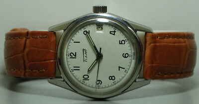 Vintage Tissot Seastar Winding Swiss Made Old Used Antique k82 Wrist Watch