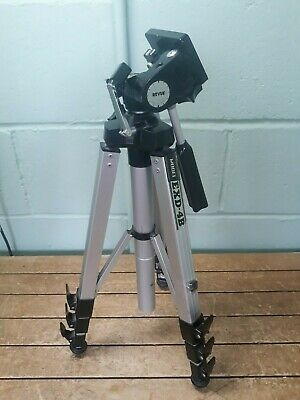 Vintage heavy Revue EXD-4B camera tripod *for repair - one clip not working* 30A