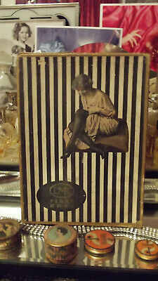 Original 1920's Flapper Girl Hosiery Box with great graphics