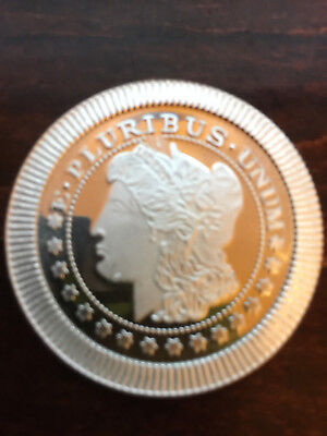 Morgan Dollar Design 1 Troy Oz .999 Fine Silver Rounds Stackable New
